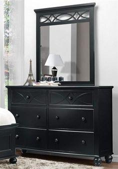 Sanibel Cottage Black Wood Metal Glass Dresser And Mirror Black Bedroom Furniture, Living Room Furniture, Home Furniture, Glass Dresser, Dresser With Mirror, Black Wood, Wood And Metal, Black Dressers, High Quality Furniture