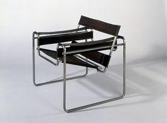 Marcel Breuer, Tubular steel armchair, design 1925-26 / Bauhaus-Archiv Berlin, Photo: Fotostudio Bartsch