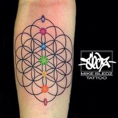 Image result for flower of life tattoo