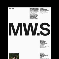 Identity Art, Brand Identity, Branding, Modern Brands, Brand Fonts, Creative Company, Mouthwash, Studio, Instagram