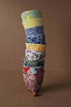 Bright Morning Teacups, Assorted - Anthropologie.com::