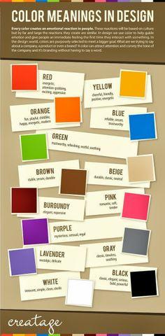 #Color and #Design translation for media marketing