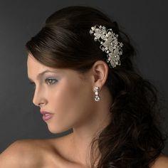 Freshwater Pearl Bridal Comb for your wedding day! Best Seller! $58.99 affordableelegancebridal.com