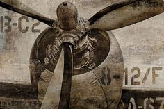 Amanti Art 'Vintage Propeller' by Dylan Matthews Framed Graphic Art Stretched Canvas Prints, Canvas Art Prints, Canvas Wall Art, Painting Frames, Painting Prints, Paintings, Framed Wall Art, Framed Art Prints, Wall Decals