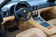 FERRARI 456M GT  How should be a Ferrari interior.. Not all that creepy carbon fiber