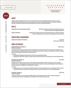 New Service Gives Any Job Seeker A Slick, Custom Resume | Co.Design: business + innovation + design