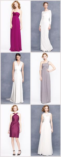 JCrew Bridal and Bridesmaids