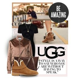 """""""The New Classics With UGG: Contest Entry"""" by sportsonista ❤ liked on Polyvore featuring UGG, McQ by Alexander McQueen, Acne Studios, Michael Kors and ugg"""