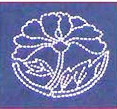 This lotus motif is one of the designs that I'll be teaching in the Lotus Blossom Wall Hanging class.
