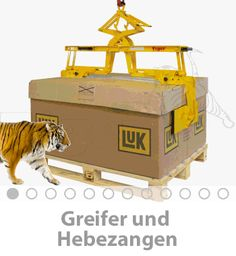 Lastaufnahmemittel- Tiger Hebetechnik
