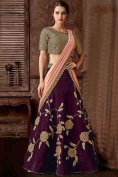 Check out our Online Lehenga Saree collection of Lehenega Style saree at Shree Designer Saree. We offer best handmade designs of Indian Lehenga sari. Buy & wear Stylish Designer Lehenga sarees in special occasions. Blouse Lehenga, Brocade Lehenga, Lehenga Style Saree, Party Wear Lehenga, Lehenga Choli Online, Saree Dress, Bridal Lehenga, Sarees Online, Indian Gowns