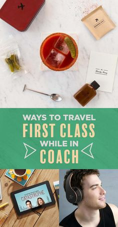 21 Things To Make You Feel Like You're In First Class When You're In Coach