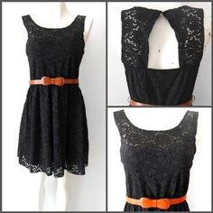 #vestido negro encaje #estilo #romántico
