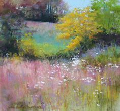 Wild MeadowWILD MEADOW pastel 13 x 14 inches