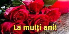 Felicitari de la multi ani - Pagina 19 - mesajeurarifelicitari.com Flowers, Plants, Love Verses, Roses, Plant, Royal Icing Flowers, Flower, Florals, Floral