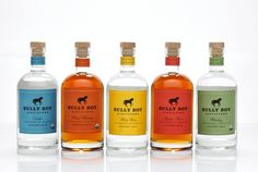 Assorted liquors same bottle but with different #labels #packaging PD