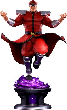 Street Fighter M. Bison Statue by Pop Culture Shock   Sideshow Collectibles