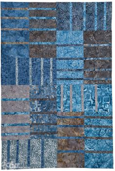 In Love with Squares & Rectangles: 10 Quilt Projects with Batiks & Solids from Blue Underground Studios by Amy Walsh and Janine Burke