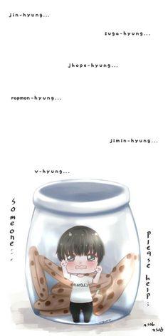 Jungkook chibi fanart