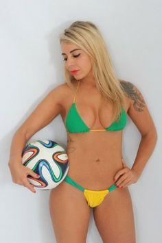 Vanessa Ribeiro | Musa das Torcidas da Copa do MundoMusa das Torcidas da Copa do Mundo