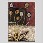 Pintada a mano Floral/Botánico Modern Un Panel Lienzos Pintura al óleo pintada a colgar For Decoración hogareña 2017 - R$223.98