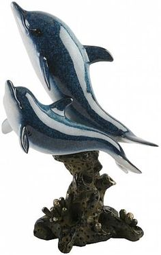 Dolphin Figurines | Dolphin figurine,Juliana dolphins swimming, dolphin figurines ...