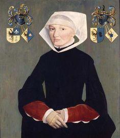1547 Adriaen van Cronenburg - Portrait of Frouk van Haerda