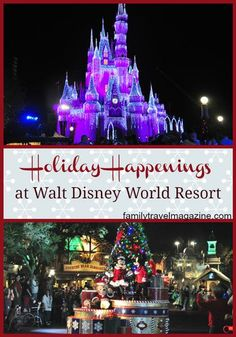 Disney World Christmas Events #familytravel #family