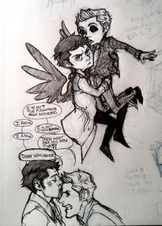 I dont know how I feel about this. Sad because Cas still loves him as a demon aj dksnsjs