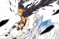 Haikyuu Nekoma, Hinata Shouyou, Haikyuu Funny, Haikyuu Fanart, Haikyuu Anime, Manga Anime, Anime Art, Haikyuu Volleyball, Tsukkiyama