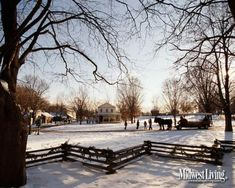 Naper Settlement, Illinois. Click to put this image on your desktop.