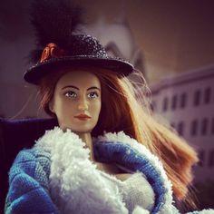#Патрикеевна обзавелась шляпой. Кажется пора изобретать мафиозный костюмчик.  #dollcollection