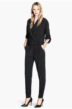 H&M Jumpsuit, $39.95, available at H&M.  8 Fall Trends To Start Shopping NOW #refinery29 http://www.refinery29.com/fall-fashion#slide22