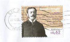 Ramalho Ortigão - Escritor (1836-1915) - Taxa 0,62€ - 31/03/2015 http://www.wnsstamps.post/en/stamps/PT015.15