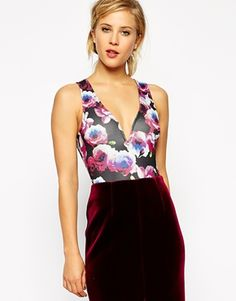 ASOS Structured Body in Floral Print