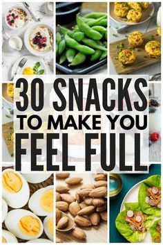 Whether you're looking for healthy, low carb breakfast on the go ideas, need 100 calorie snacks to help you lose weight, or need easy, portable snacks to eat before or after a workout, we've got 30 high protein snacks that are not only delicious, but that will keep you feeling full for longer stretches of time.