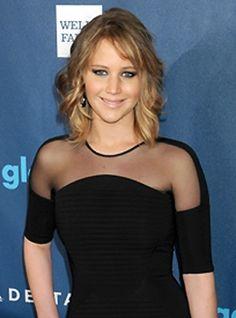 News flash! Jennifer Lawrence's freshly cut bob.
