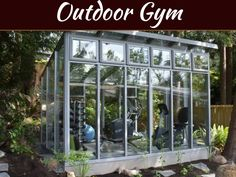 Tips For Creating Your Own Outdoor Gym