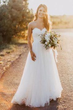 Wedding Dresses Lace #WeddingDressesLace, Ivory Wedding Dresses #IvoryWeddingDresses, Wedding Dresses 2018 #WeddingDresses2018
