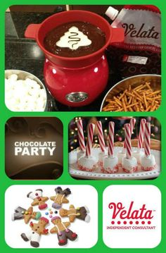 How about a Chocolate party with girlfriends before Christmas? I can hook you up! 316.640.0412
