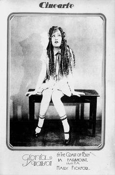 Gloria Swanson in The Coast of Folly (1925) - (CINEARTE, March 3, 1926, Rio de Janeiro, Brazil)