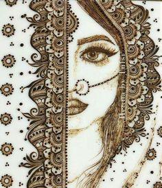 Beautiful henna art amazing bride by Modern Mehndi Designs, Dulhan Mehndi Designs, Mehndi Design Pictures, Wedding Mehndi Designs, Mehndi Designs For Fingers, Beautiful Mehndi Design, Mehndi Images, Design Tattoo, Henna Tattoo Designs