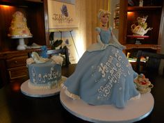 Beautiful Cinderella cake