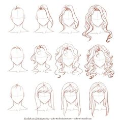 Commissions info|Facebook|Tumblr|My OCs Done just for fun, because lately many people asked me about drawing hair, especially wavy/curly. I hope it can help! Dow...