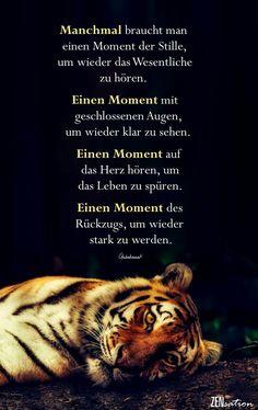Momente für sich selbst zwischendurch....