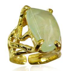 Riyo prehnite vergoldet Schmuck indischen Siegelring sz 5 gprpre5-60035 - http://www.ebay.de/itm/Riyo-prehnite-vergoldet-Schmuck-indischen-Siegelring-sz-5-gprpre5-60035-/262460363165?hash=item3d1bdb519d:g:c-wAAOSw6btXTDuo