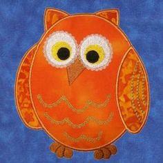 Cheery Owls Applique 2 - Erinas Designs   OregonPatchWorks