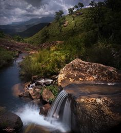 Downstream Lotheni - a hike through the Lotheni Drakensberg. Tree Mushrooms, Amazing Photography, South Africa, Waterfall, Hiking, Explore, Landscape, Nature, Outdoor