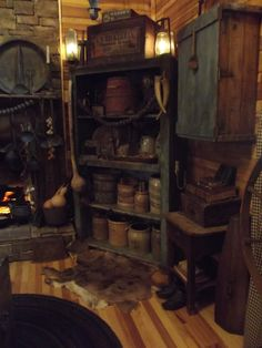 Primitive keeping room