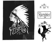 Dribbble - More Rambler Co. junk by Matthew Genitempo